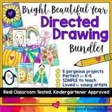 Directed Drawing Bundle!  Art for every season!