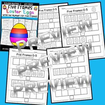 Easter Eggs (Five Frames)