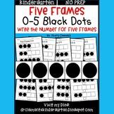 Five Frames (Black Dots)