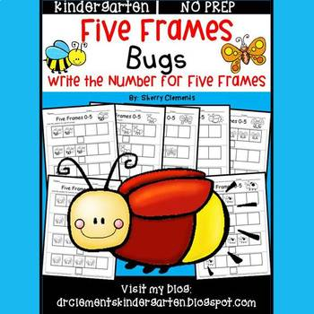 Bugs Five Frames
