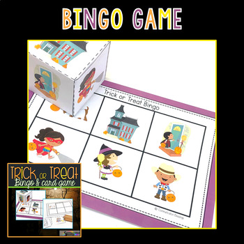 Halloween Trick or Treat Bingo and Card Games