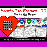 Hearts Write the Room (Ten Frames 1-20)
