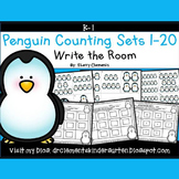 Penguin Write the Room (Counting Sets 1-20)