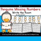 Penguins Write the Room (Missing Numbers 0-10) (Set 2)