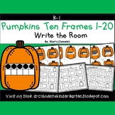 Pumpkins Write the Room (Ten Frames 1-20)