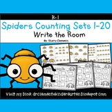 Spiders Write the Room (Counting Sets 1-20)