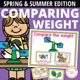 Spring & Summer Measurement Activities | Comparing Weights