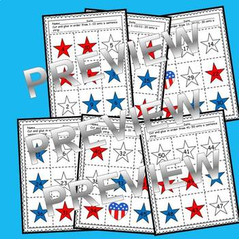 Stars Sequencing 1-50