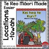 Te Reo Māori Made Easier: Locations-Tūwāhi