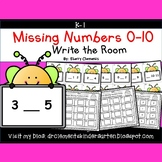 Write the Room (Missing Numbers 0-10) (Set 5)