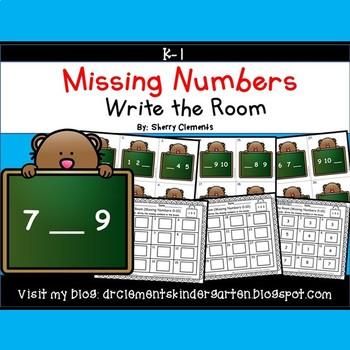 Missing Numbers 0-10
