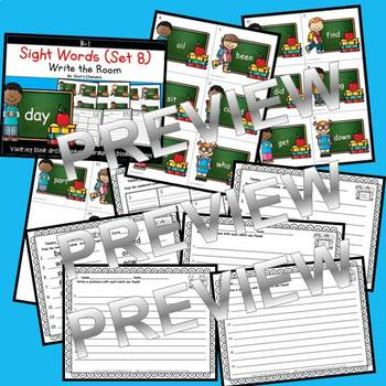 Sight Words Write the Room (Set 8)