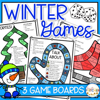 Winter Board Games (Team Building and Getting to Know You)