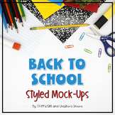 Basic School Supplies Styled Images