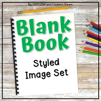 Blank Workbook Styled Photos
