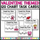Numbers to 120 - Valentine Math Center for Ordering Numbers