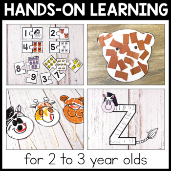 Toddler Lesson Plans - Zoo Themed Lessons