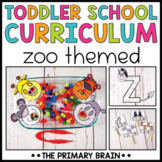Toddler School Lesson Plans   Zoo Themed Curriculum Activities