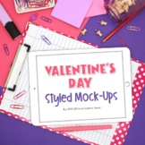 iPad Mock-ups | Valentine's Day Styled Images