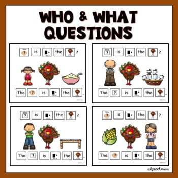 Adapted Thanksgiving Who and What Book