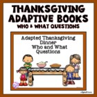 Adapted Thanksgiving Books