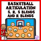 Articulation Boom Cards Basketball Game for S, R and blends
