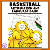 Basketball Articulation and Language Game