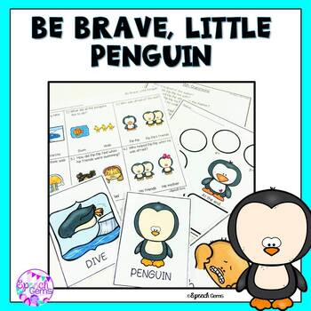 50% off for 48 hours Be Brave Little Penguin Book Companion