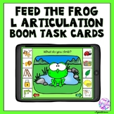Boom Cards Articulation L sound for Distance Learning