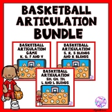 Boom Cards Basketball Articulation Game for Initial Sounds