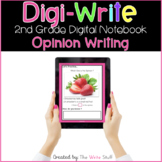 Digi Write 2nd Grade Opinion Writing Google & Microsoft