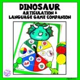 Dinosaur Articulation and Language Game Companion