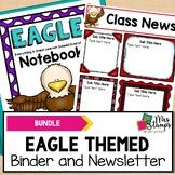 Eagle Themed BUNDLE | Student Binder and Editable Newsletter