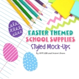 Easter Styled Images | Pastel School Supplies