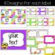 Emoji Classroom Decor Editable Labels