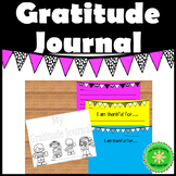 Gratitude Lesson and Journal