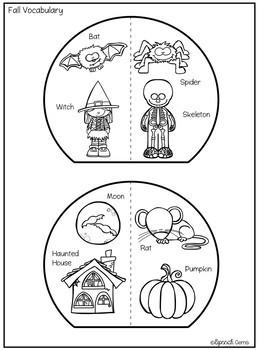 Halloween Articulation and Language Craft