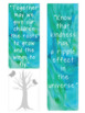 Inspirational Bookmarks Staff Appreciation