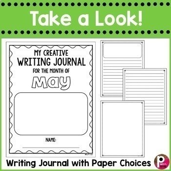 May Writing Prompts and Journal