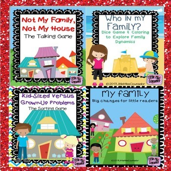 My Family Bundle for Early Childhood School Counselors