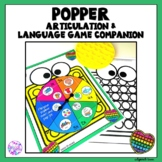 Popper Articulation and Language Game Companion
