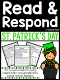 St. Patrick's Day - Read and Respond