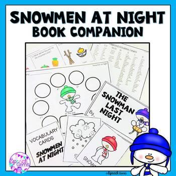 #warmupwithsped1 Snowmen at Night Book Companion