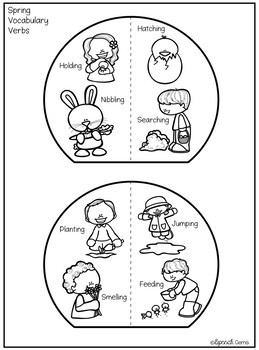 Spring and Easter Articulation & Language