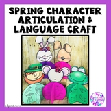 Spring and Easter Articulation and Language Activity