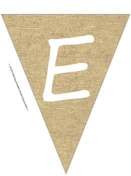 Welcome Back Burlap Bunting