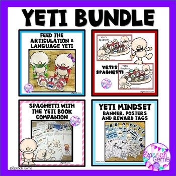 Yeti Articulation and Language BUNDLE
