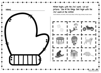 Winter Clothing Unit for Pre-K and Kindergarten