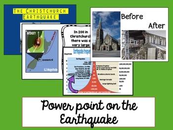 Christchurch Earthquake unit Level 2