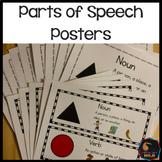 Montessori Grammar Parts of Speech Posters